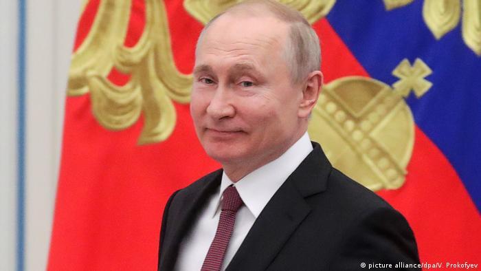 Russland l Präsident Putin (picture alliance/dpa/V. Prokofyev)