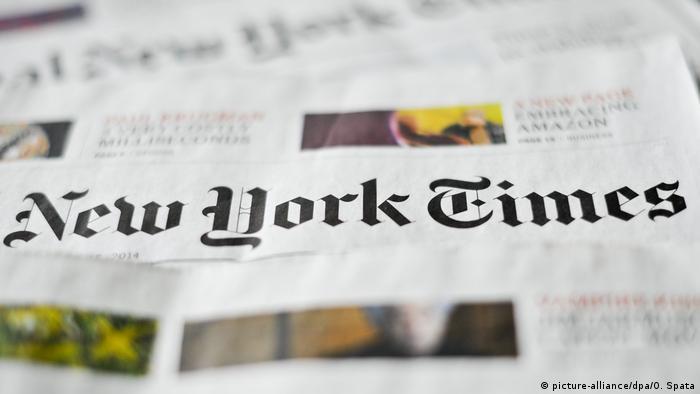 Ausgaben der New York Times