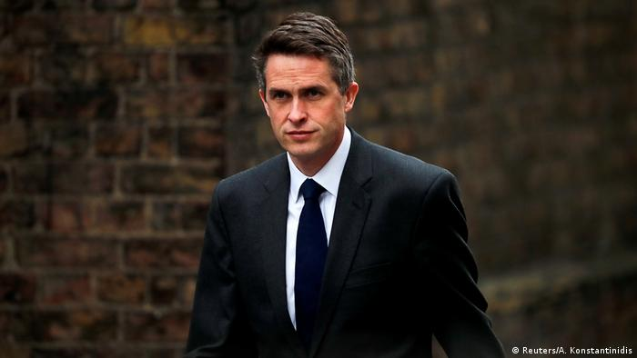 Former UK Defense Secretary Gavin Williamson