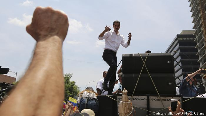 Venezuela Krise l Oppositionsführer Juan Guaido