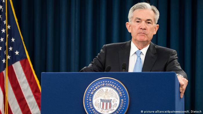 USA Washington | Jerome Powell, Federal Reserve Chairman (picture-alliance/dpa/newscom/K. Dietsch)