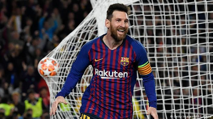 UEFA Champions League  FC Barcelona vs. FC Liverpool  2. TOP Barcelona (Getty Images / AFP / L. Gene)