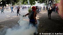 Venezuela Krise | Protest gegen Präsident Nicolas Maduro in Caracas, Ausschreitungen