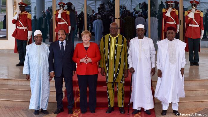Burkina Faso Ouagadougou | Angela Merkel, Bundeskanzlerin & Treffen G5 Sahel