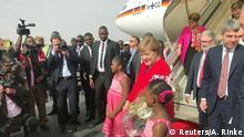 Burkina Faso Ouagadougou | Angela Merkel, Bundeskanzlerin