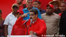 Venezuela Krise | Nicolas Maduro, Präsident in Caracas