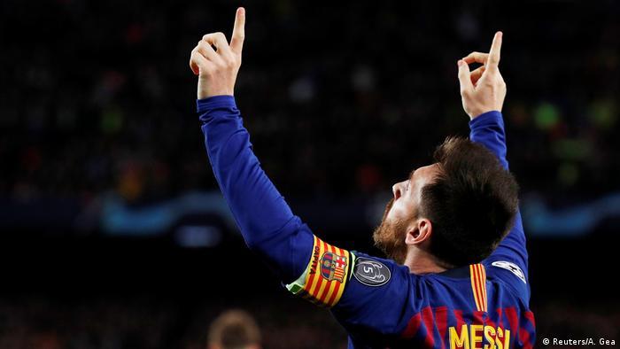 UEFA Champions League  FC Barcelona vs. FC Liverpool  Lionel Messi (Reuters / A. Gea)