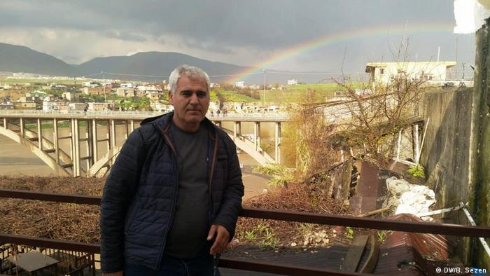 Staudammprojekt in Hasankeyf, Türkei (DW/B. Sezen)