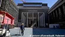 Berlin Baustelle des Pergamonmuseums