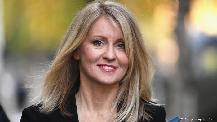 Arbeits- und Rentenministerin Esther McVey (Getty Images/L. Neal)