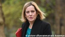 Brexit. File photo dated 02/04/19 of Work and Pensions Secretary Amber Rudd who has said she is keeping the door slightly ajar to a possible run to be prime minister as she played down suggestions she would team up with Boris Johnson on a joint ticket to replace Theresa May. Issue date: Tuesday April 16, 2019. The Work and Pensions Secretary said she didn't have a plan to stand in a leadership contest but repeatedly refused to rule out joining the race to be the next Conservative leader. Speaking on Radio 5 Live's The Emma Barnett Show she was asked if she wanted to take over from Mrs May, who signalled she will stand down once Brexit is delivered. See PA story POLITICS Rudd. Photo credit should read: Stefan Rousseau/PA Wire URN:42362982  