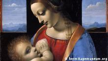 Leonardo da Vinci. 1452-1519 The Madonna and Child (The Litta Madonna) Artist:Leonardo da Vinci. 1452 Technique:tempera Dimensions:42x33 cm