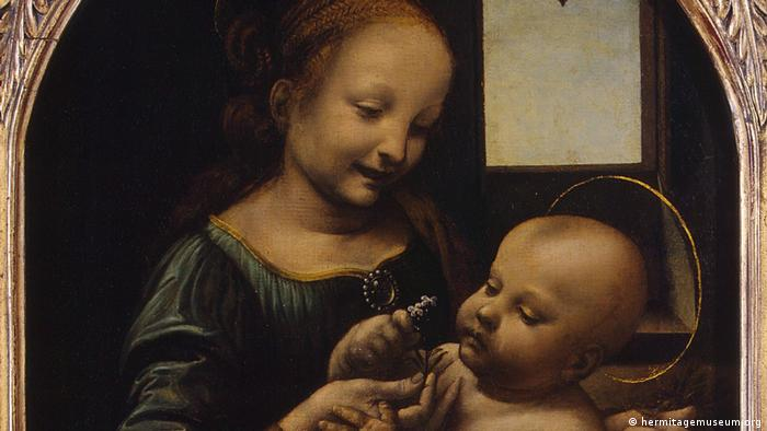 Madonna and the Child, also known as Benois Madonna, by Leonardo da Vinci