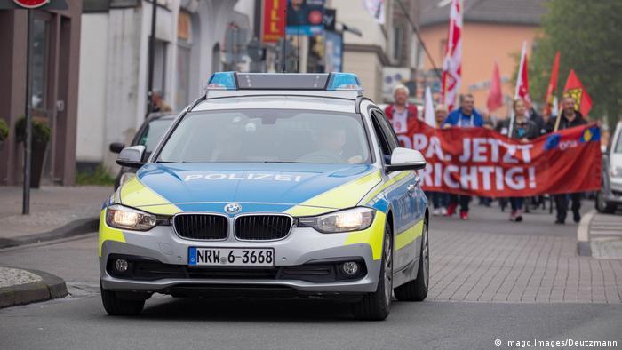 Police car in Solingen