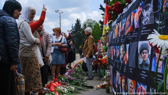 Акция памяти на Куликовом поле в Одессе 2 мая 2019 года