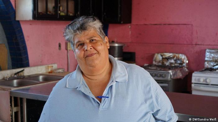 Altagracia Tamayo, Leiterin einer Flüchtlingsherberge in Mexicali