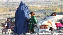 Afghanistan-Krieg - Vertriebene Familien bei Khogyani/Chogiani