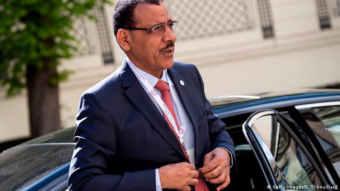 Former Nigerien interior minister Mohamed Bazoum