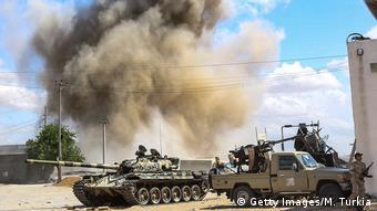 Cили визнаного міжнародною спільнотою уряду в Лівії у боях за Тріполі