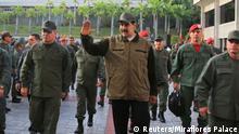 Venezuela Maduro ruft Armee zur Entwaffnung aller Putschisten auf
