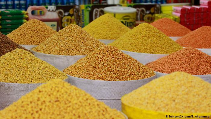 Bangladesch Markt | Linsen (bdnews24.com/T. Ahammed)