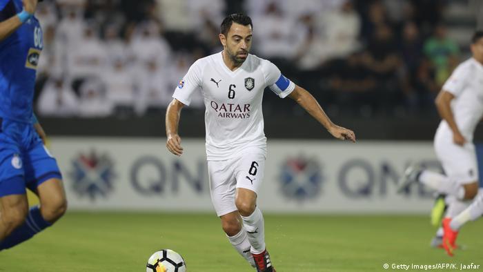 Fußball Champions League Esteghlal FC - Al-Sadd SC Xavi Hernandez