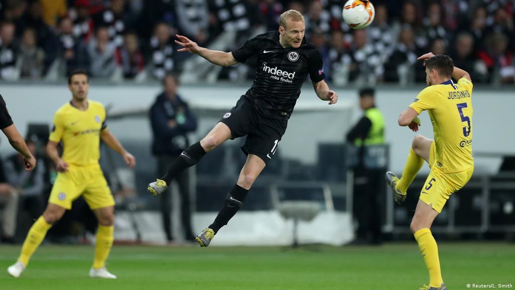 Europa League: Eintracht Frankfurt hold on for draw against
