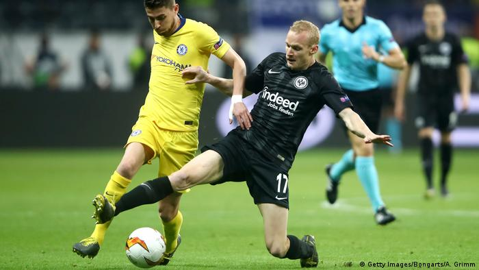Europa League - Eintracht Frankfurt vs FC Chelsea | Sebastian Rode (Getty Images/Bongarts/A. Grimm)