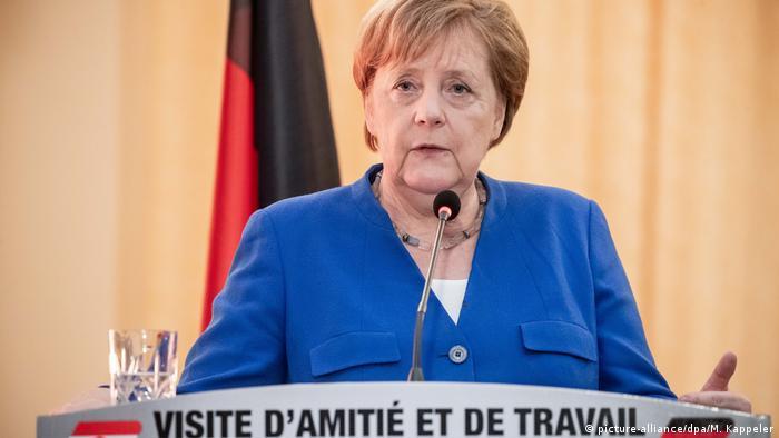 Niger Kanzlerin Merkel auf Afrikareise