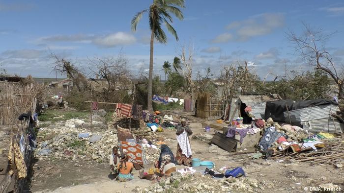 Destroyed houses (photo: DW/A. Kriesch)