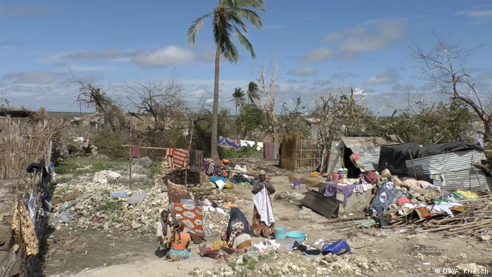 Mozambique after the cyclone