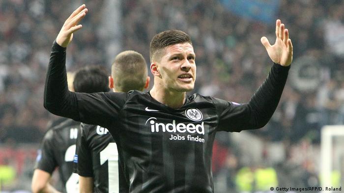 Europa League - Eintracht Frankfurt vs FC Chelsea | Luka Jovic (Getty Images/AFP/D. Roland)