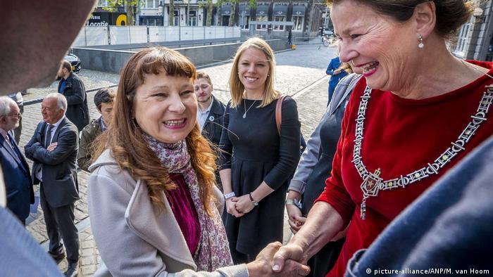 Niederlande Maastricht Violeta Tomic (picture-alliance/ANP/M. van Hoom)