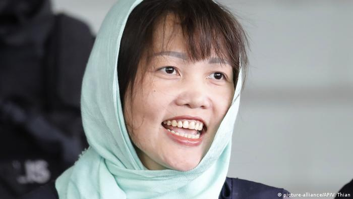 Doan Thi Huong released from prison