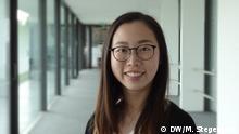 Porträtfoto der Deutschlernerin Sabrina aus Taiwan