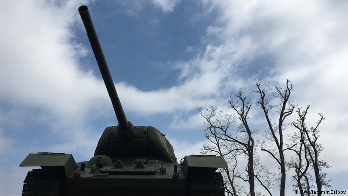Советский танк Т-34 в Байльроде