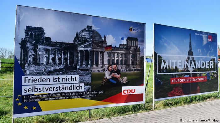 Передвиборна агітація в Берліні