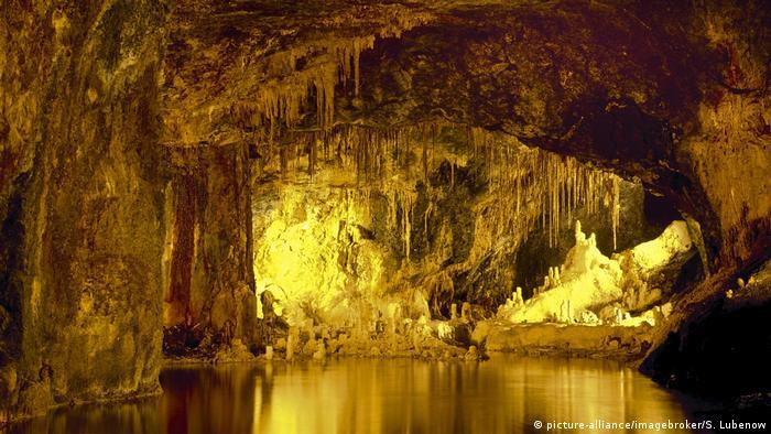 Saalfeld Fairy Grottoes, Saalfeld, Thuringia, Germany, Europa (picture-alliance/imagebroker/S. Lubenow)