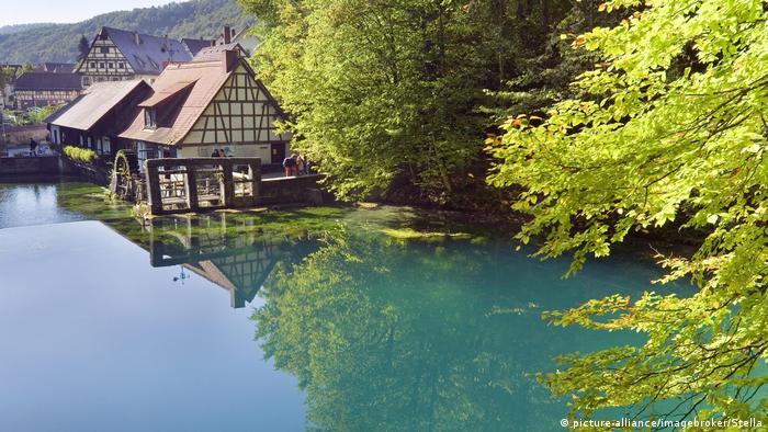 Blautopf, Blaubeuren, Baden-Württemberg