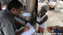 India Diabetes Kampagne dagegen nahe Neu Delhi