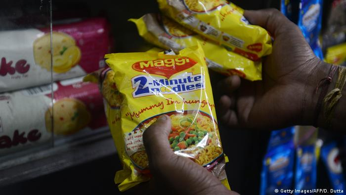 Indien Maggi Suppe (Getty Images/AFP/D. Dutta)
