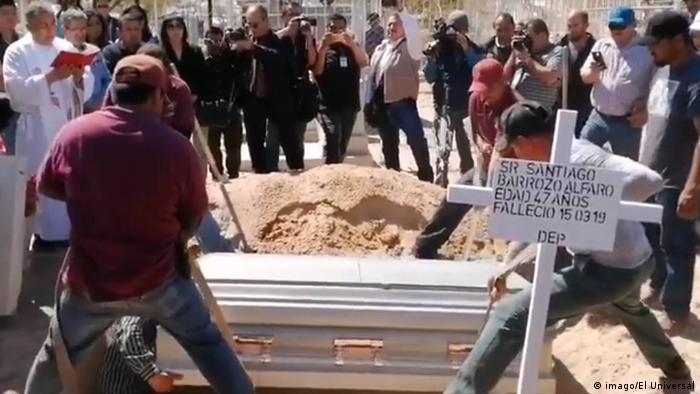 Funeral of Santiago Barroso Alfaro