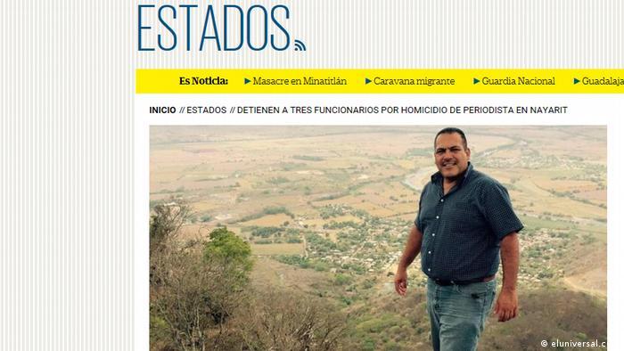 Justo el día que AMLO se posesionó como presidente, el 1° de diciembre del 2018, fue asesinado el periodista Jesús Alejandro Márquez Jiménez.