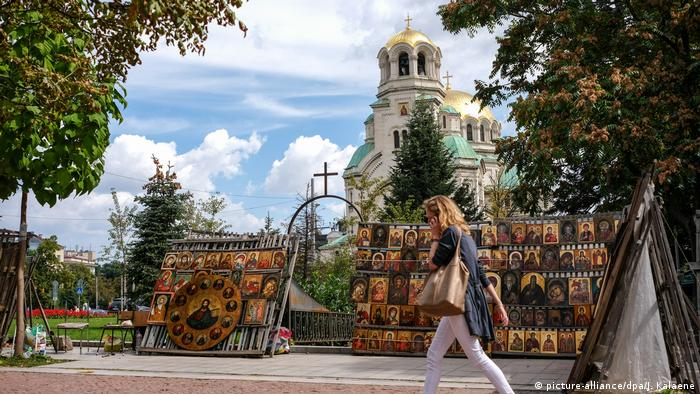 Alexander Nevsky Cathedral in Sofia, Bulgaria (picture-alliance/dpa/J. Kalaene)