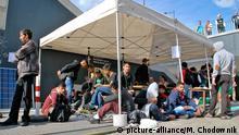 Ungarn: Asylsuchende in Budapest