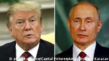 Kombobild Donald Trump und Wladimir Putin