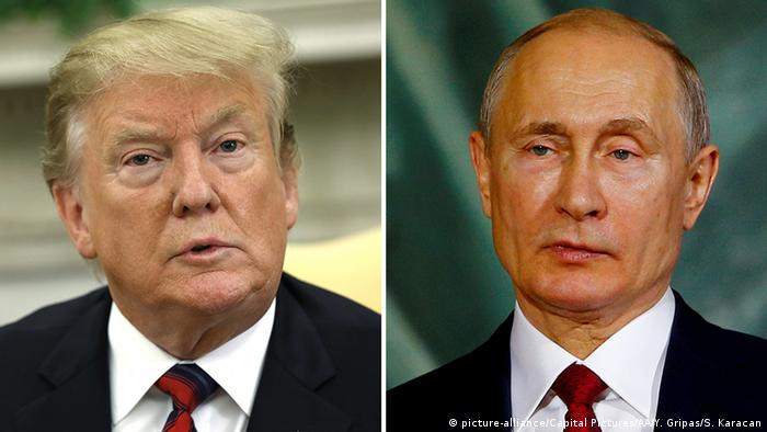 Trump Talks Venezuela And Mueller Probe With Vladimir Putin News Dw 04 05 2019