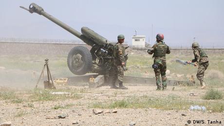 Afghanistan Heart   Artillerie-Training der Armee durch US-Army