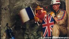 UK Frankreich l Ärmelkanal Tunnel l Graham Fagg and Philippe Cozette - 1990