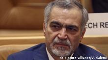 Iran, Hossein Fereidoun, Bruder und oberster Berater des iranischen Präsidenten Hassan Rouhani